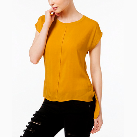 High-Low-Hem Top